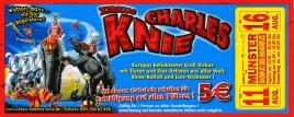 Zirkus Charles Knie Circus Ticket - 2013
