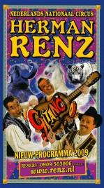 Circus Herman Renz Circus Ticket - 2009