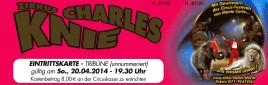 Zirkus Charles Knie Circus Ticket - 2014