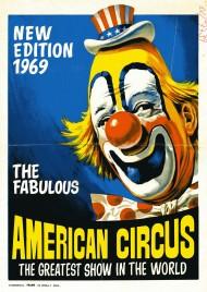 Circo Americano Circus Ticket - 1969