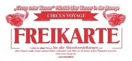 Circus Voyage Circus Ticket - 0