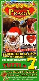 Circo di Praga Circus Ticket - 2014