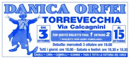 Circo Danica Orfei Circus Ticket - 0