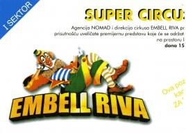 Circo Embell Riva Circus Ticket - 2003