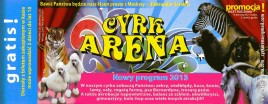 Cyrk Arena Circus Ticket - 2013