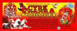 Cyrk Europa Circus Ticket - 2013