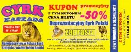 Cyrk Kaskada Circus Ticket - 2011