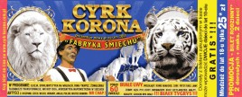 Cyrk Korona Circus Ticket - 2013