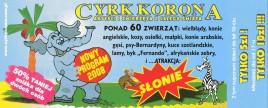Cyrk Korona Circus Ticket - 2008