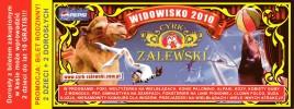 Cyrk Zalewski Circus Ticket - 2010