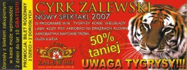 Cyrk Zalewski Circus Ticket - 2007