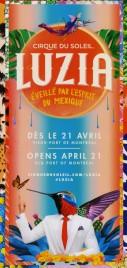 Cirque Du Soleil - Luzia Circus Ticket - 2016