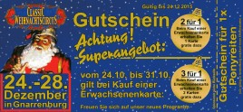 Classic Weihnachtscircus Circus Ticket - 2015
