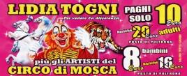 Circo Lidia Togni Circus Ticket - 2015