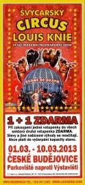 Circus Louis Knie Circus Ticket - 2013