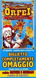 Circo Marina Orfei Circus Ticket - 0
