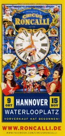 Circus Roncalli - Good Times Circus Ticket - 2015