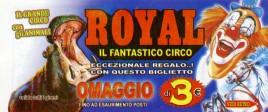 Circo Royal Circus Ticket - 2015