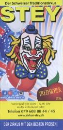 Zirkus Stey Circus Ticket - 2016