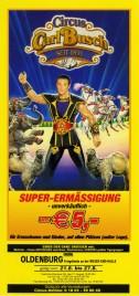 Circus Carl Busch Circus Ticket - 2002