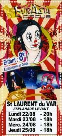 Eurasia Circus Circus Ticket - 2016