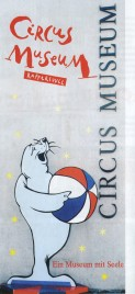Circus Museum Rapperswil Circus Ticket - 2016