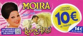 Circo Moira Orfei Circus Ticket - 2015