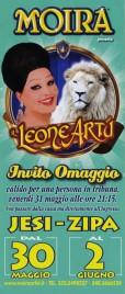 Circo Moira Orfei Circus Ticket - 2013