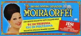 Circo Moira Orfei Circus Ticket - 2009