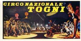 Circo Nazionle Togni Circus Ticket - 0
