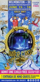 Cirque Italia - Water Circus Circus Ticket - 2017