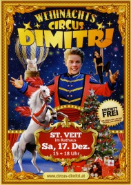 Weihnachts Circus Dimitri Circus Ticket - 2016