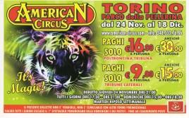 American Circus Circus Ticket - 2011