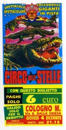 Circo delle Stelle Circus Ticket - 2003
