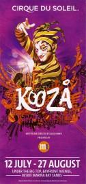 Cirque du Soleil - Koozå Circus Ticket - 2017