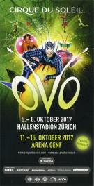 Cirque du Soleil - OVO Circus Ticket - 2017