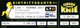 Österreichischer National-Circus Louis Knie Circus Ticket - 2017
