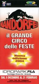 Circo Nando Orfei Circus Ticket - 2003