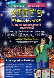 Stey's Weihnachtszirkus Circus Ticket - 2016