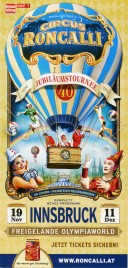 Circus Roncalli - Good Times Circus Ticket - 2016