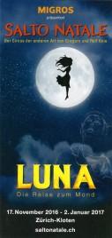 Circus Salto Natale - Luna Circus Ticket - 2016