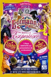 Circus Bormann Moreno Circus Ticket - 2016