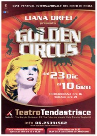Liana Orfei - 26th Golden Circus Festival Circus Ticket - 2010