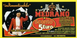 Circo Medrano Circus Ticket - 2008