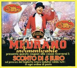 Circo Medrano Circus Ticket - 2010