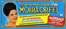 Circo Moira Orfei Circus Ticket - 2008