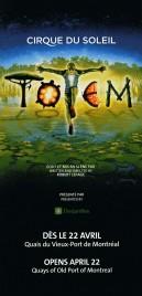 Cirque Du Soleil - Totem Circus Ticket - 2010