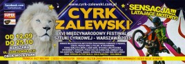 Cyrk Zalewski Circus Ticket - 2015