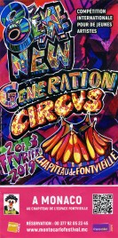 8eme New Generation Circus Ticket - 2019