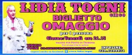 Circo Lidia Togni Circus Ticket - 0